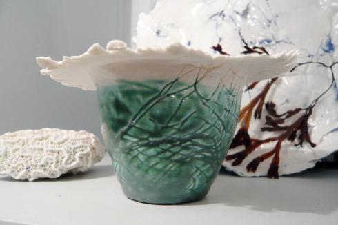 Porcelain and glaze